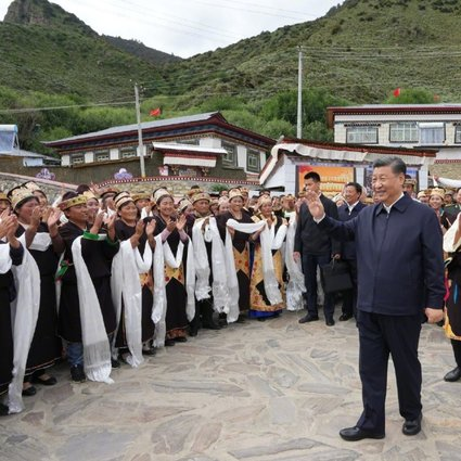 Xi Jinping to lead Tibet 70th anniversary celebrations   South China  Morning Post