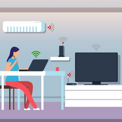 Fast, stable and reliable internet connections are becoming more important in the home as people rapidly integrate smart everyday physical objects, such as air conditioners, refrigerators and security cameras, which are embedded with sensors, software and other technology that can exchange data online, into their lives.