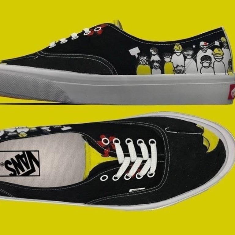 Vans sneakers pulled from sale in Hong
